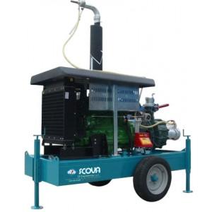 Помпен агрегат с водно охлаждане SCOVA