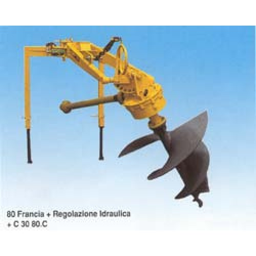 Реверсивна пробивна машина SELVATICI France